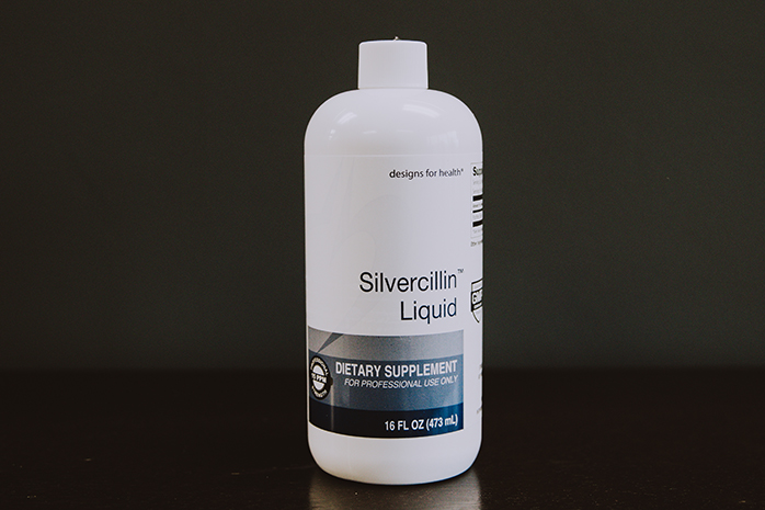 Silvercillin™ Liquid is a highly effective antimicrobial found at Turack Chiropractic, located in Wexford, Pa.