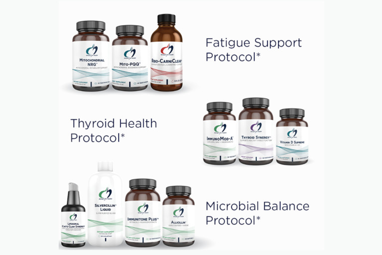 Turack Chiropractic has an extensive line of Designs for Health products.